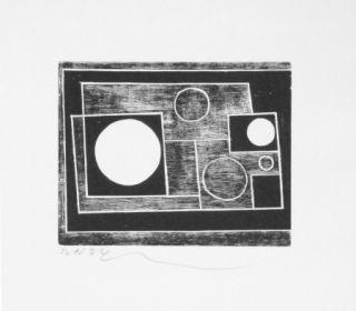 Gravure Sur Bois Nicholson - Sans titre