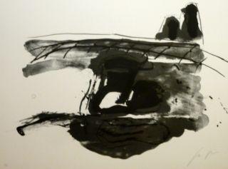 Lithographie Delgado - Sans titre