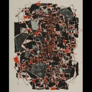 Lithographie Dumitresco - Sans titre