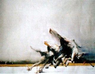 Lithographie Shahabuddin - Sans titre