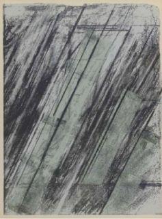 Lithographie Twombly - Sans titre