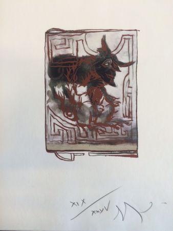 Estampe Numérique Garouste - Sans titre