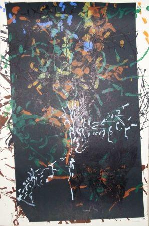 Lithographie Riopelle - Sans titre