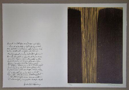 Gravure Sur Bois Bergmann - Sans titre