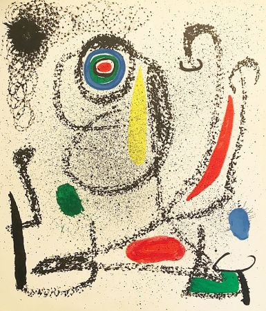 Lithographie Miró (After) - Sans titre