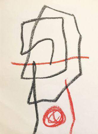 Lithographie Miró - Sans titre