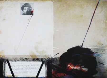Lithographie Bru - Sans titre
