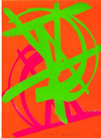 Lithographie Di Suvero - Sans Titre