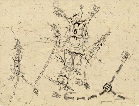 Lithographie Camacho  - Sans titre