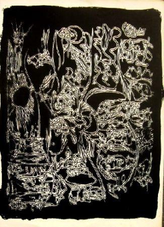 Lithographie Jorn - Sans titre