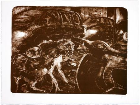 Lithographie Aceves Humana - Sans titre