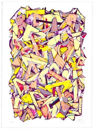 Lithographie Meyso - Sans titre
