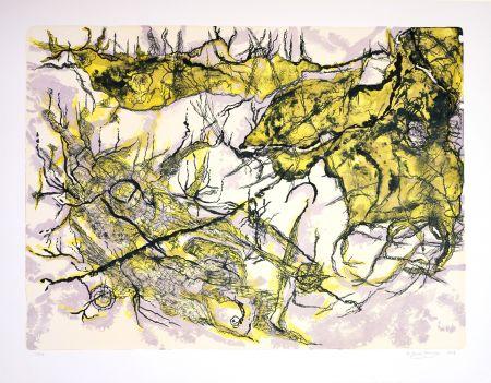 Lithographie Henriquez - Sans titre