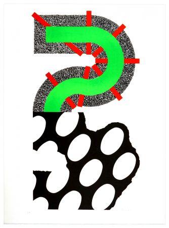 Lithographie Sugai - Sans titre