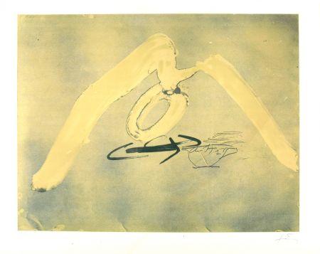 Lithographie Tàpies - Sans titre