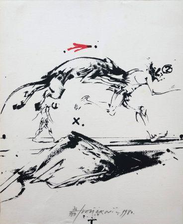 Lithographie Velickovic - Sans titre