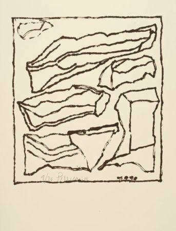 Lithographie Pincemin - Sans titre - Untitled