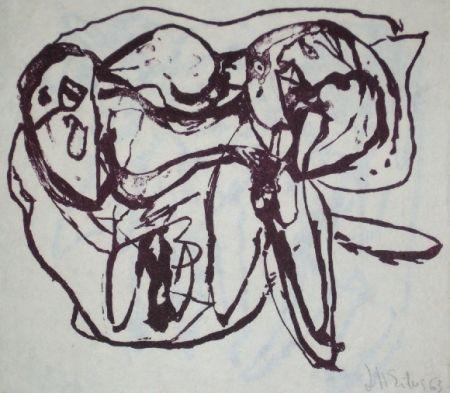 Lithographie Silva - Sans titre 15