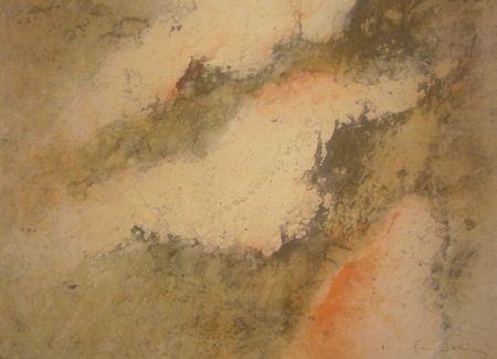 Lithographie Salinas - Sans titre 2