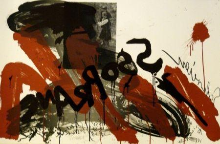 Lithographie Vostell - Sans titre 2
