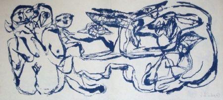 Lithographie Silva - Sans titre 24