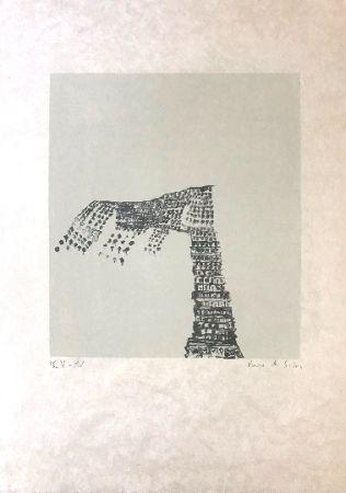 Lithographie Vieira Da Silva - Sans titre 3