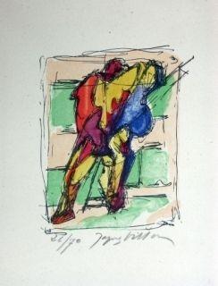 Lithographie Villon - Sans titre 3