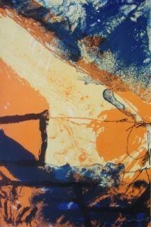 Lithographie Guinovart - Sans titre 4