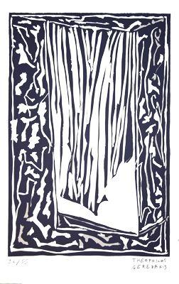 Linogravure Gérédakis - Sans titre 6