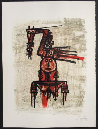 Lithographie Lam - Sans Titre (7604)