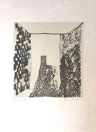Lithographie Vieira Da Silva - Sans titre 9