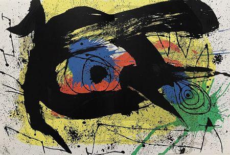 Lithographie Miró - Sans Titre I