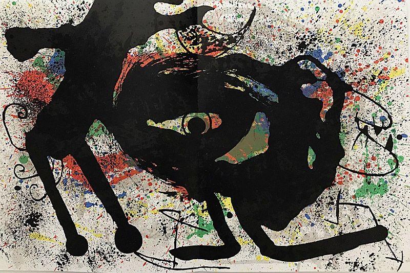 Lithographie Miró - Sans Titre II