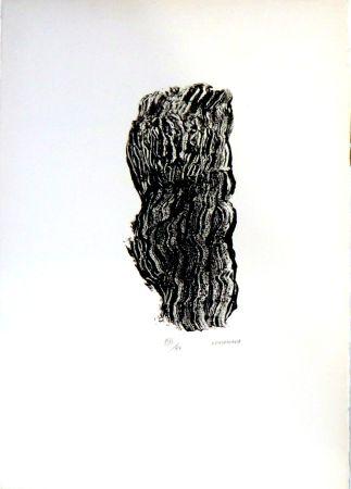 Lithographie Michaux - Sans titre n°127