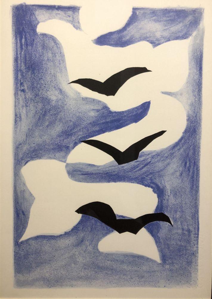 Lithographie Braque - Sans titre / Untitled