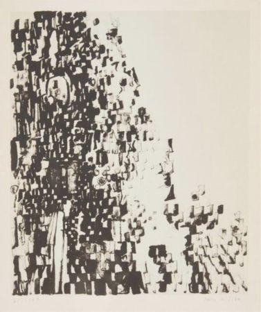 Lithographie Vieira Da Silva - Sans titre / Untitled