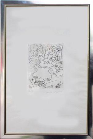 Gravure Masson - Sans Titre / Untitled.