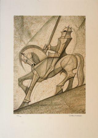 Lithographie Subirachs - Sant Jordi