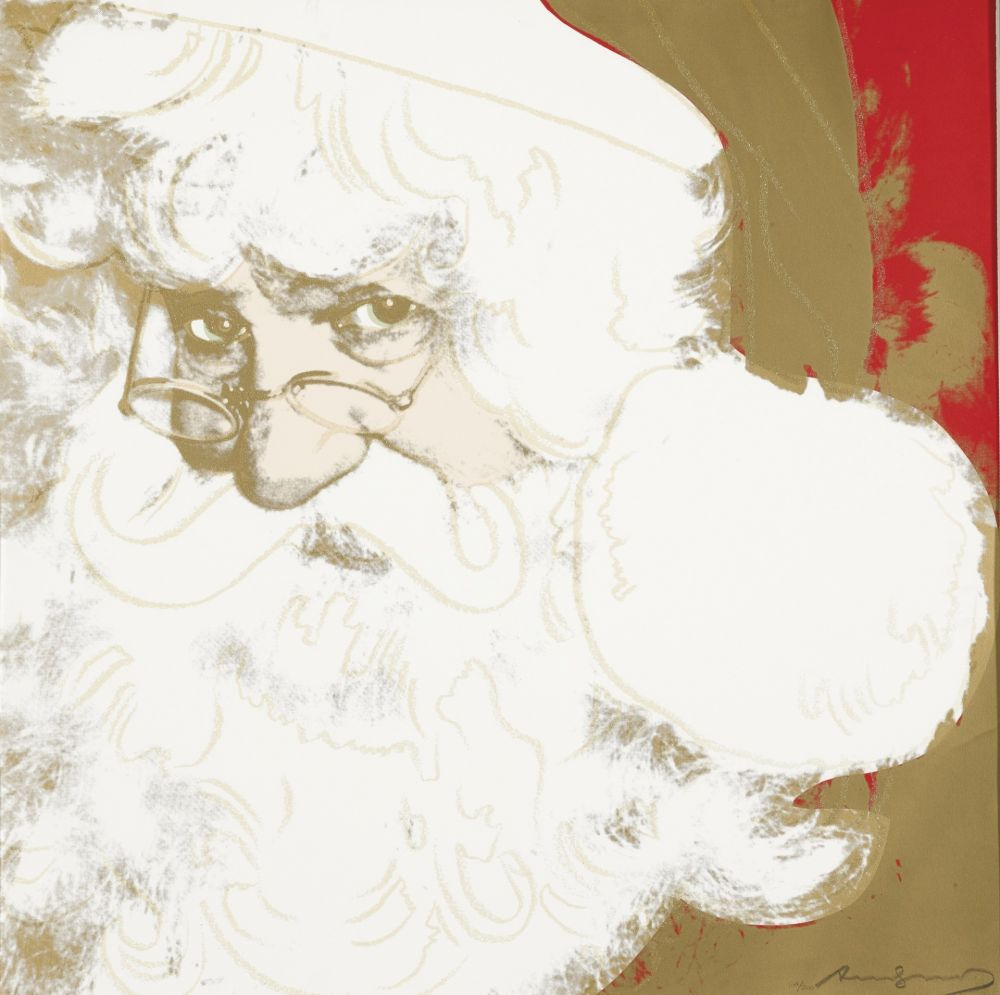 Sérigraphie Warhol - Santa Claus (FS II.266)