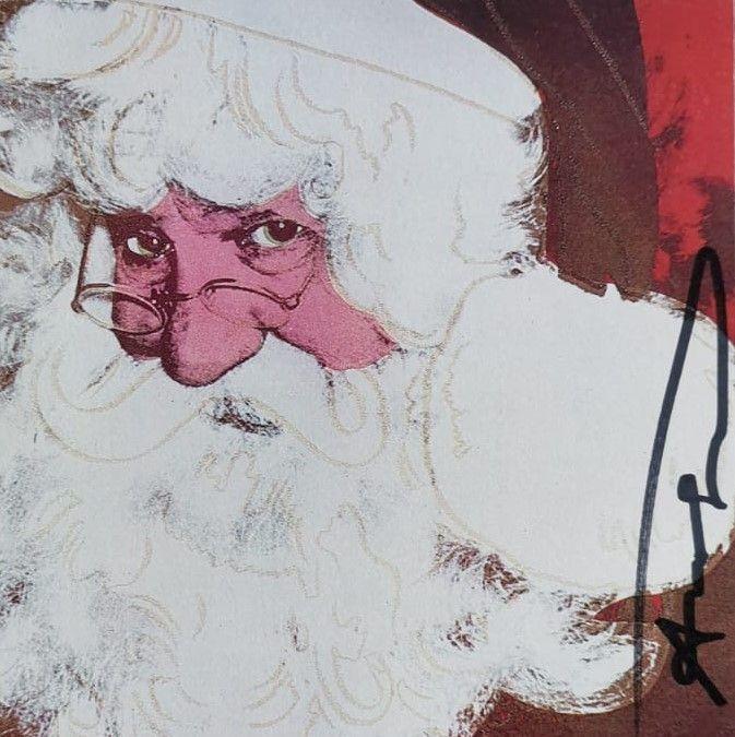 Sérigraphie Warhol - Santa Claus