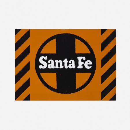 Sérigraphie Cottingham - Santa Fe Railway