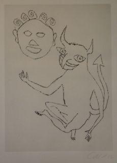 Gravure Calder - Santa Klaus 8