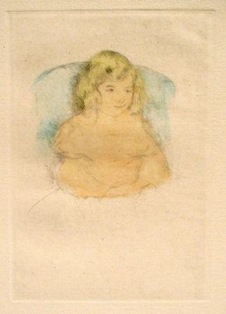 Pointe-Sèche Cassatt - Sara Smiling (C. 1904)