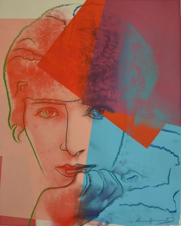 Sérigraphie Warhol - Sarah Bernhardt TP