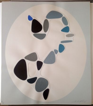 Aucune Technique Vasarely - Sauzon (Belle Isle) - Collage