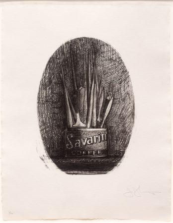 Lithographie Johns - Savarin 4 (Oval)