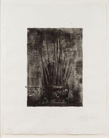 Lithographie Johns - Savarin (Cookie)