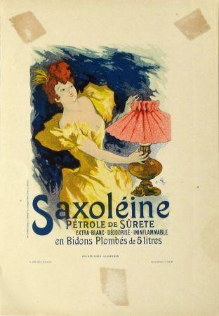 Lithographie Cheret - Saxoleine