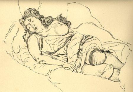 Livre Illustré Vrieslander - Schlafende Frauen / Sleeping Women