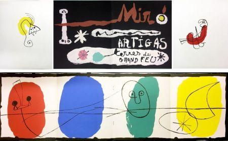 Livre Illustré Miró - SCULPTURE IN CERAMIC BY MIRÓ AND ARTIGAS. TERRES DE GRAND FEU. December, 1956